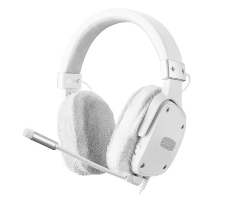 SADES Snow Wolf Gaming Headset - PC Games