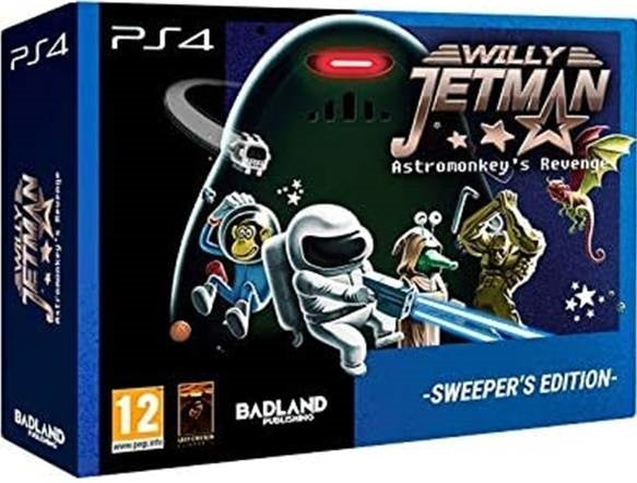 Willy Jetman: Astromonkey's Revenge - Sweeper Edition - PS4