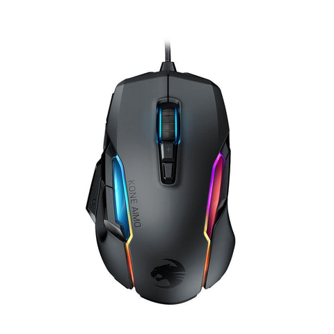 ROCCAT Kone Aimo Remastered Gaming Mouse - Black - PC Games