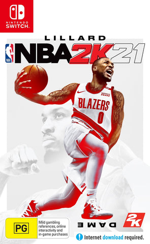 NBA 2K21 - Nintendo Switch