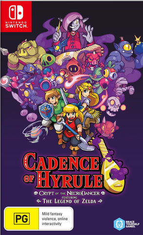 Cadence of Hyrule - Crypt of the Necrodancer - Nintendo Switch