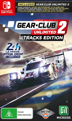 Gear Club 2 Unlimited 24H Le Mans - Nintendo Switch