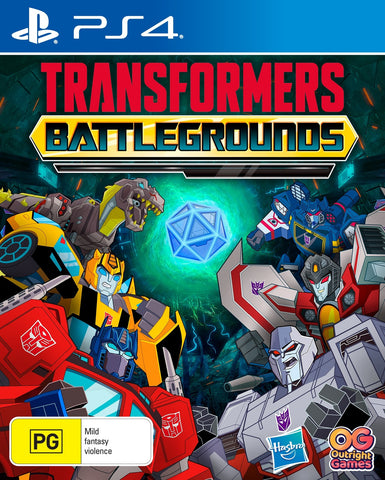 Transformers: Battlegrounds - PS4