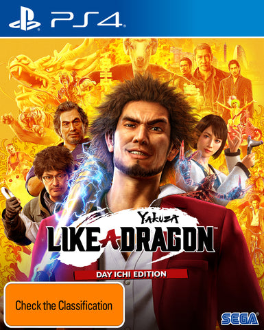 Yakuza: Like a Dragon Day Ichi Steelbook Edition - PS4