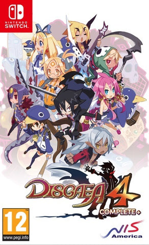 Disgaea 4 Complete+ Day One Edition - Nintendo Switch