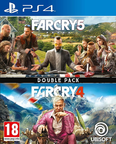 Far Cry 4 + Far Cry 5 (Double Pack) - PS4