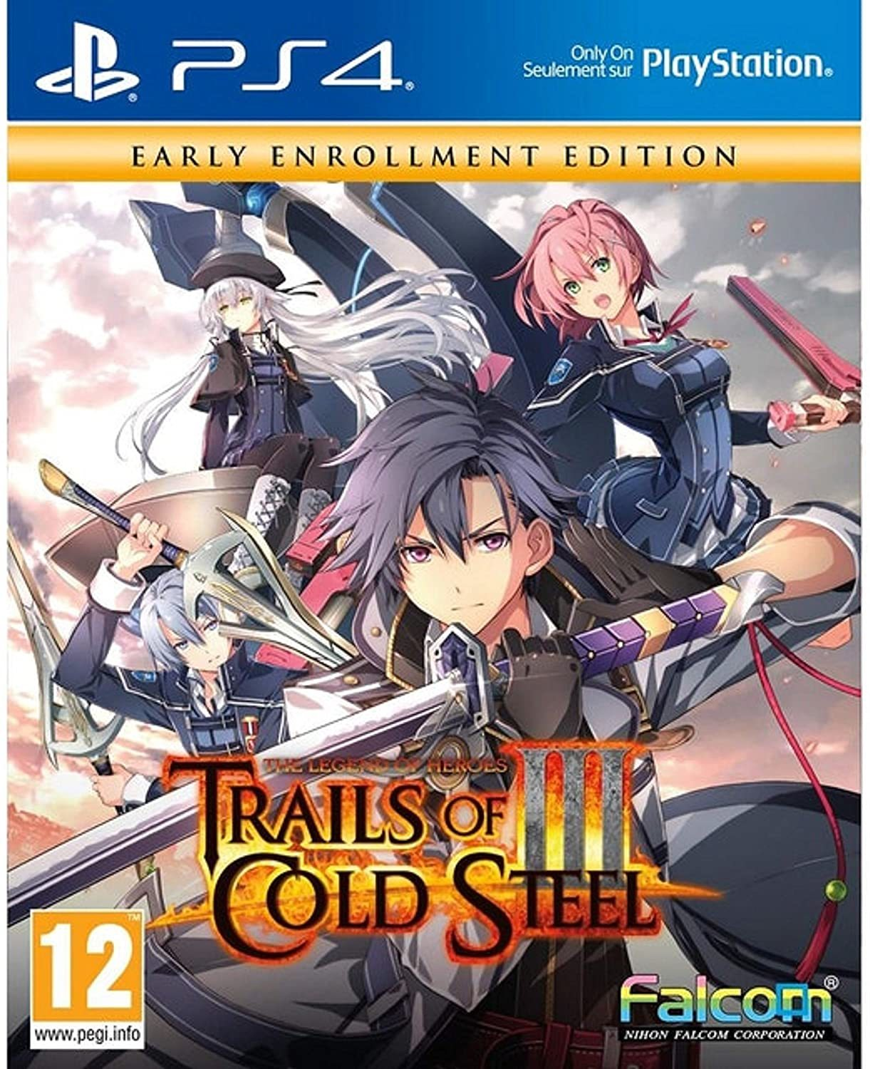 The Legend of Heroes: Trails of Cold Steel III Early Enrollment Edition - PS4