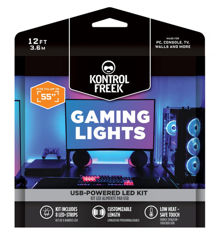 KontrolFreek Gaming Lights USB Power Extension Strip