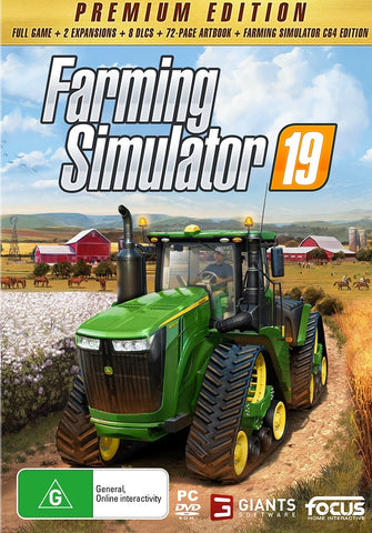 Farming Simulator 19 Premium Edition - PC Games