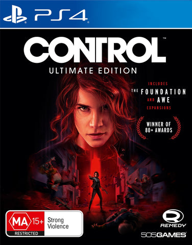 Control Ultimate Edition - PS4