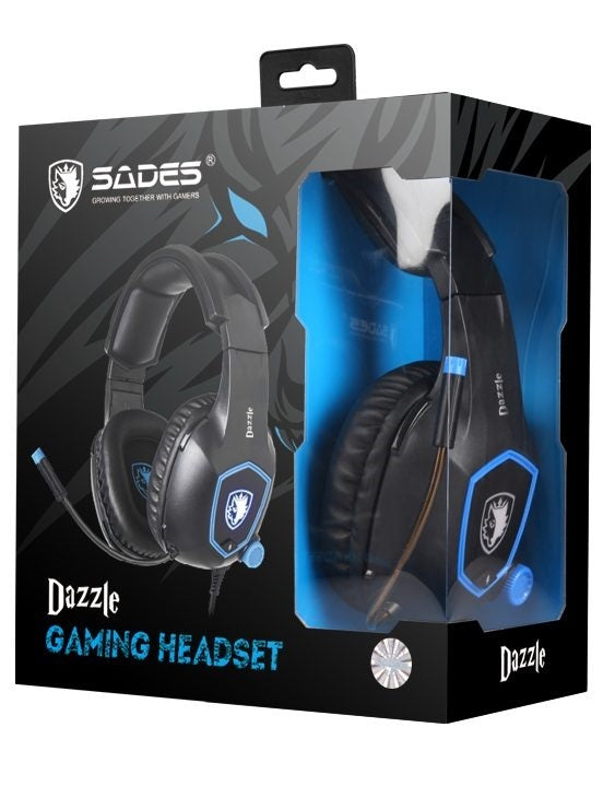 SADES Dazzle Gaming Headset - PC Games