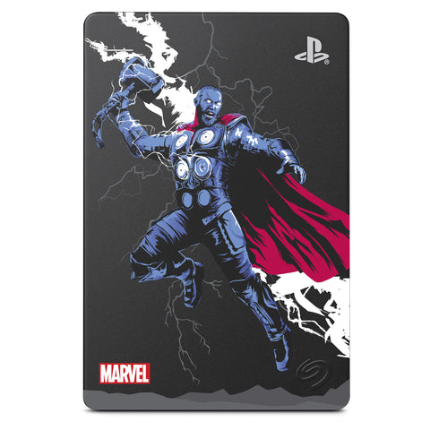2TB Seagate Marvel's Avengers Game Drive for PlayStation 4 (Thor)