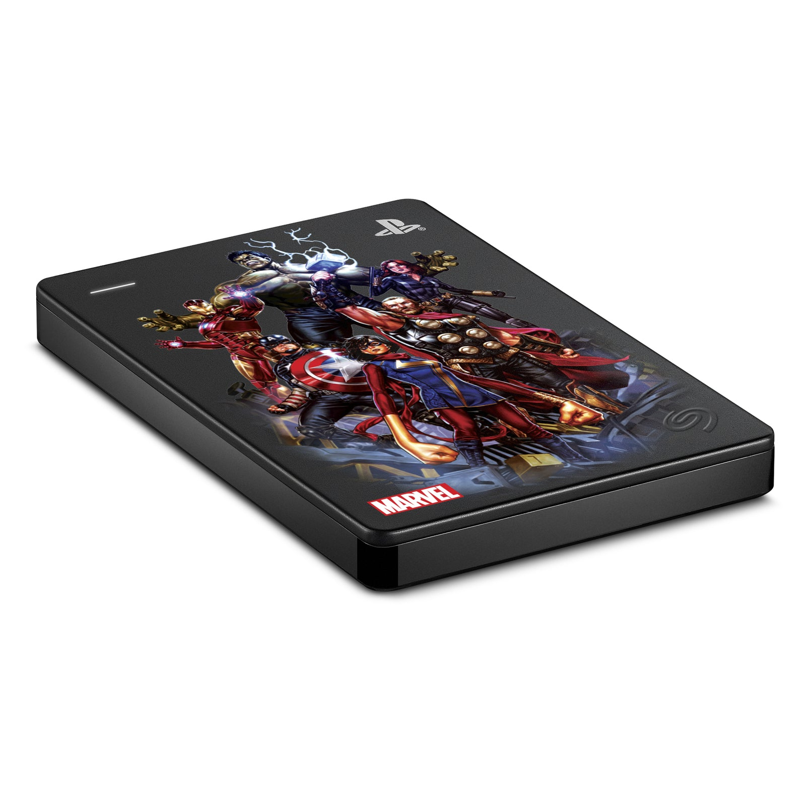 2TB Seagate Marvel's Avengers Game Drive for PlayStation 4 (Avengers Assembled)