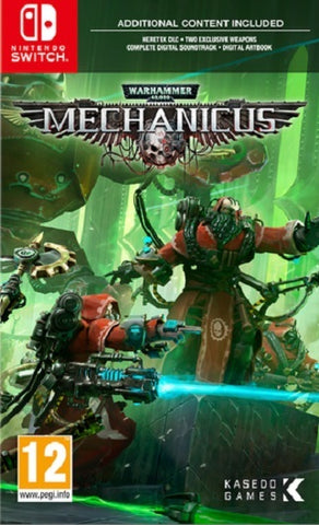 Warhammer 40,000: Mechanicus - Nintendo Switch