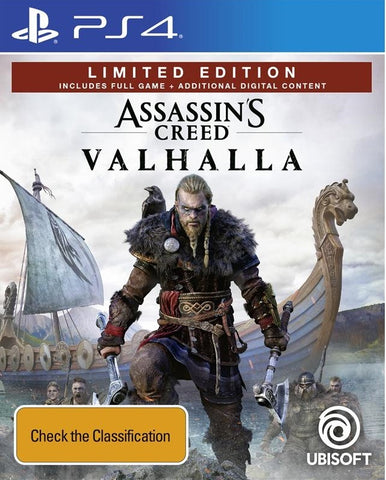 Assassin's Creed Valhalla Limited Edition - PS4