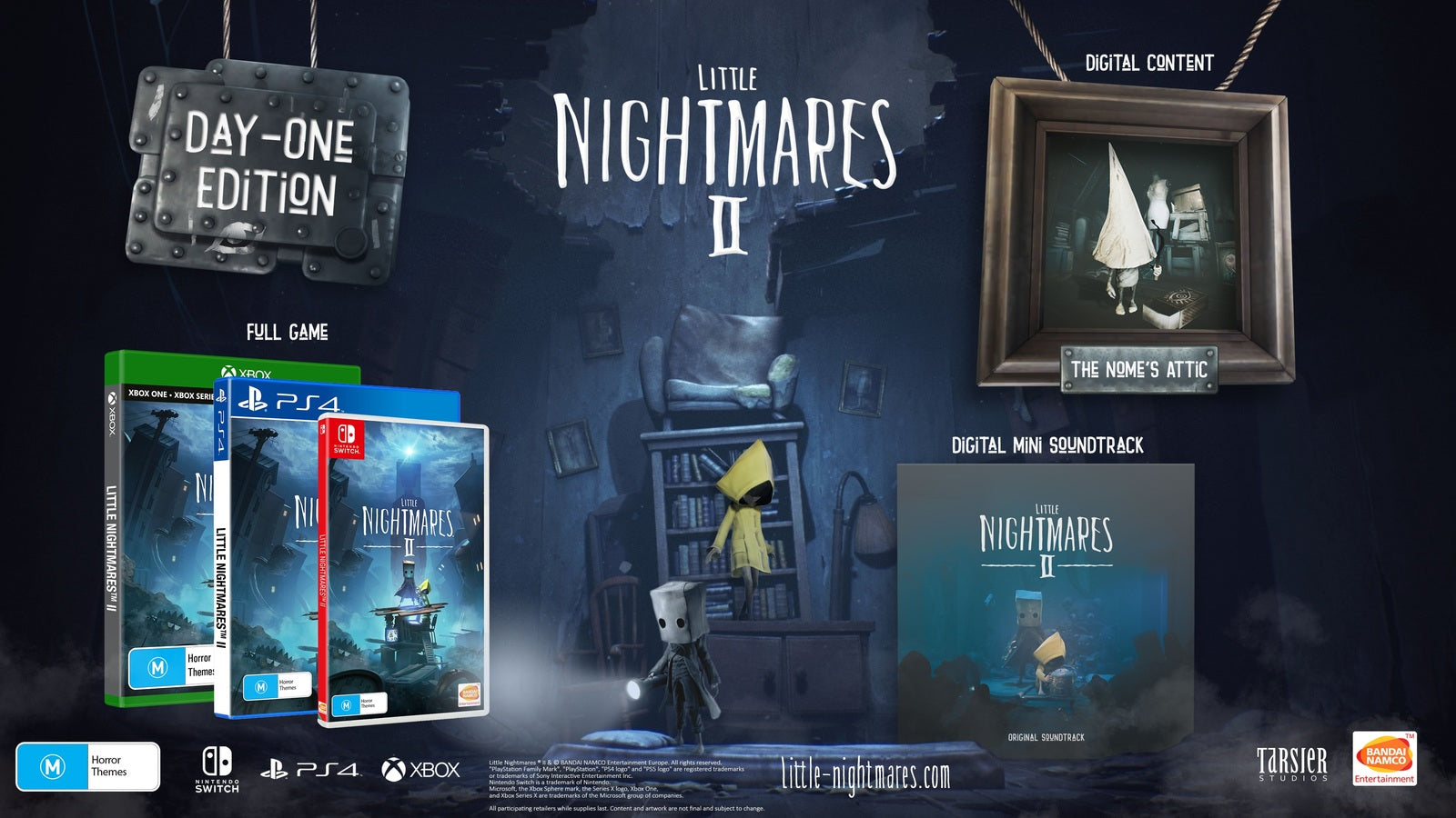Little Nightmares II Day One Edition - Nintendo Switch