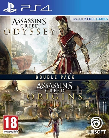 Assassin's Creed Origins + Odyssey Double Pack - PS4