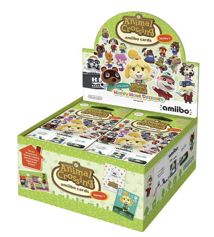Animal Crossing amiibo Cards Set (Series 1) - Nintendo Switch