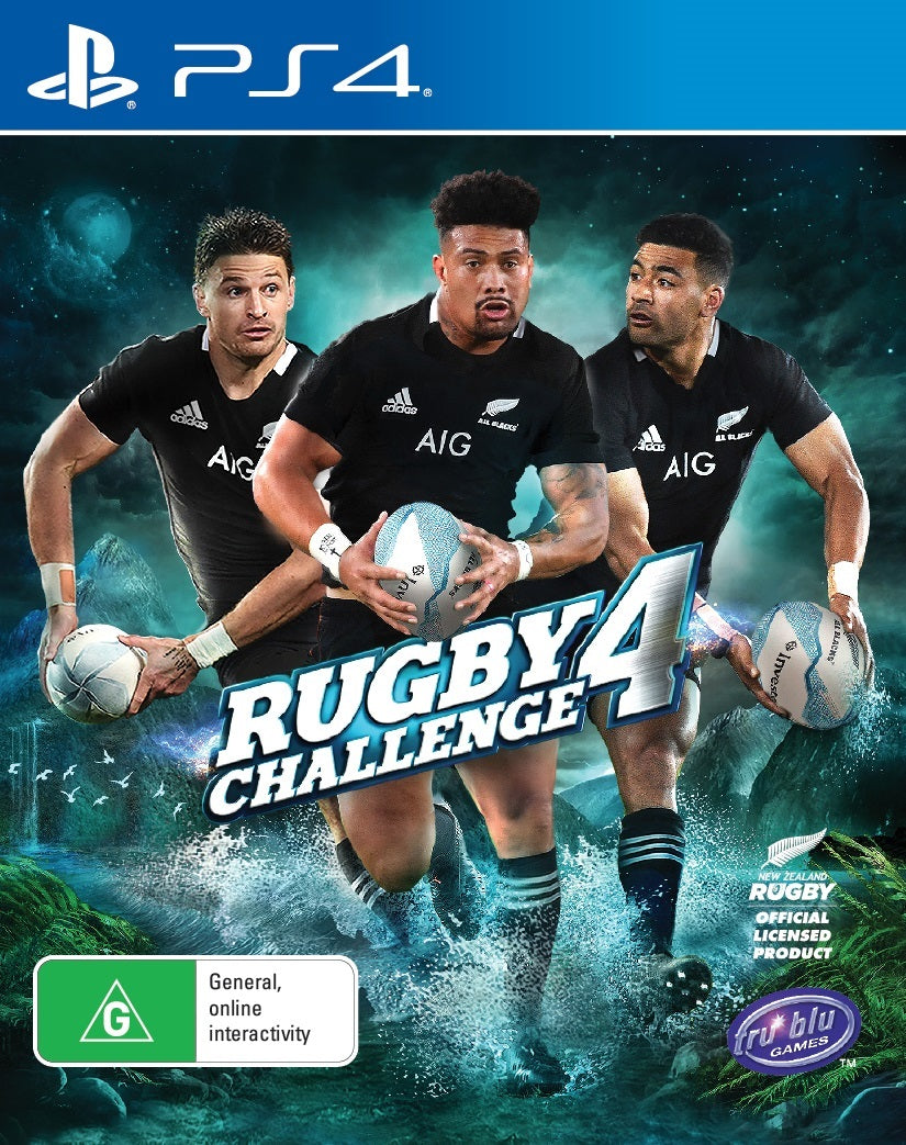 All Blacks Rugby Challenge 4 - PS4
