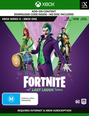Fortnite: The Last Laugh Bundle (code in box) - Xbox One