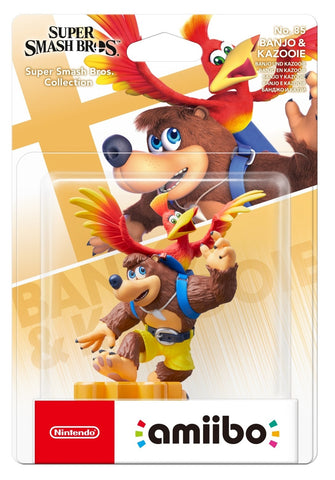 Nintendo Amiibo Banjo & Kazooie - Super Smash Bros Collection - Nintendo Switch