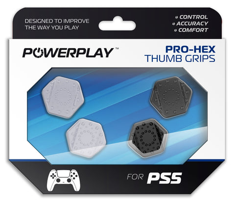 PowerPlay PS5 Pro-Hex Thumb Grips - PS5