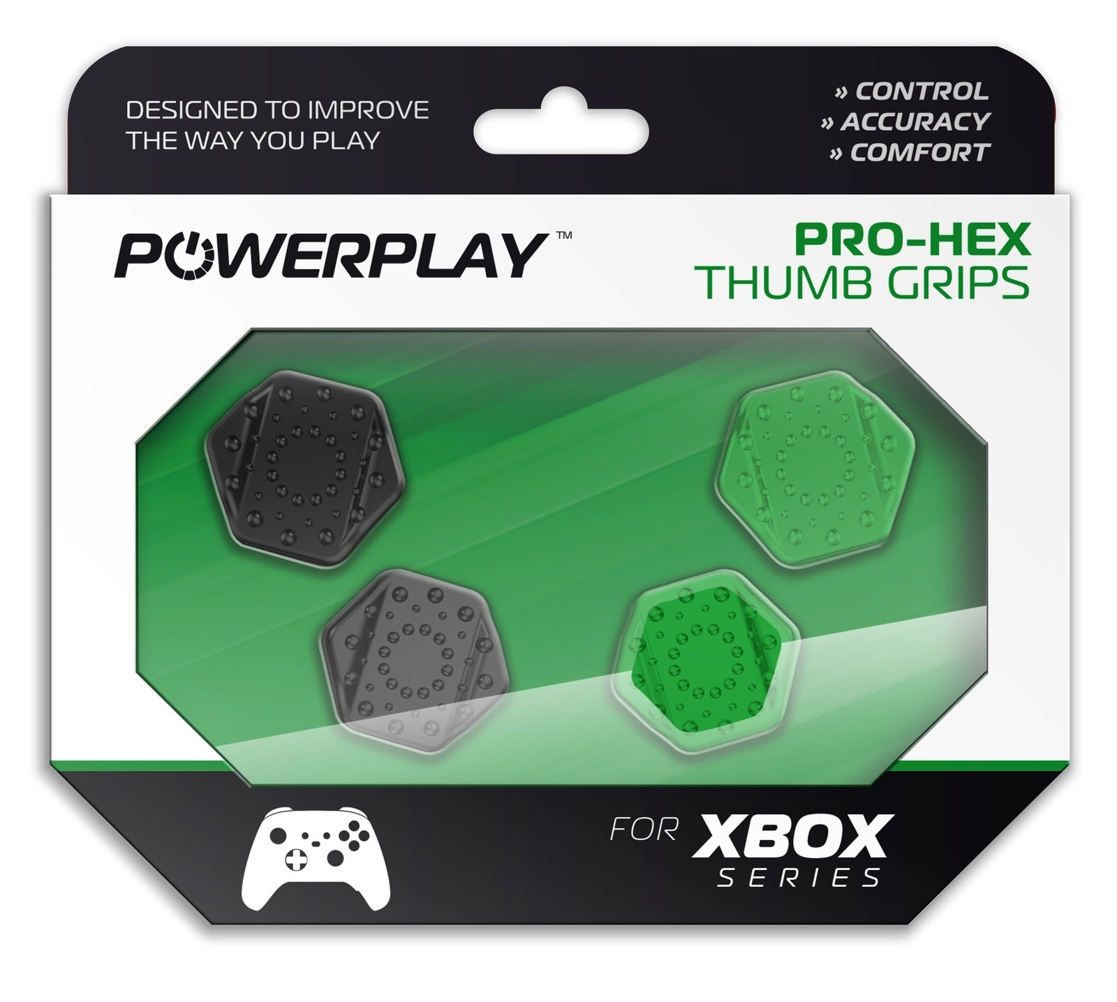 PowerPlay Xbox Pro-Hex Thumb Grips - Xbox Series X