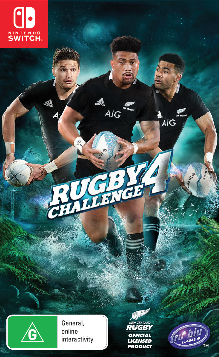 All Blacks Rugby Challenge 4 - Nintendo Switch