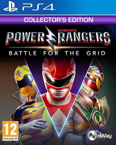 Power Rangers: Battle for the Grid Collector's Edition - PS4