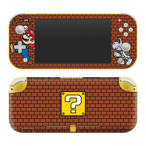 "Nintendo Switch Lite Super Mario ""Brick Breaker"" Skin - Nintendo Switch"