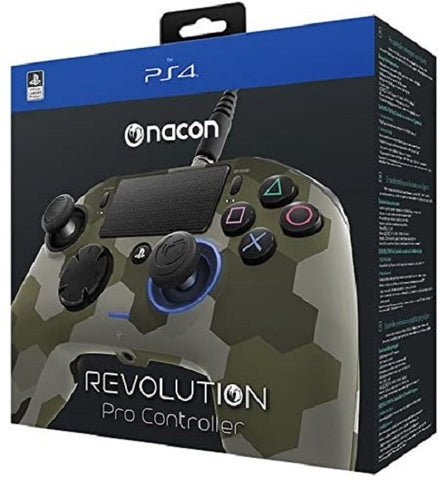 Nacon PS4 Revolution Pro Unlimited Gaming Controller (Camo Green) - PS4