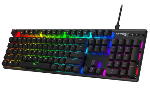 HyperX Alloy Origins RGB Mechanical Gaming Keyboard (Blue Switches) - PC Games