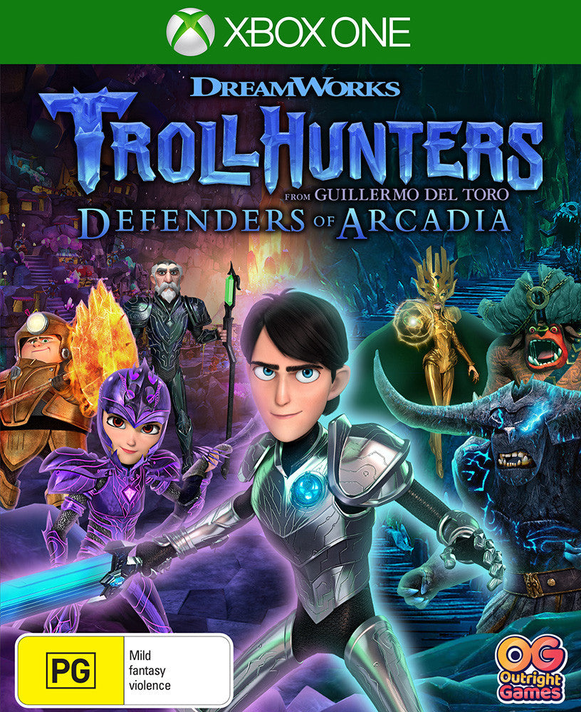 Trollhunters Defenders of Arcadia - Xbox One