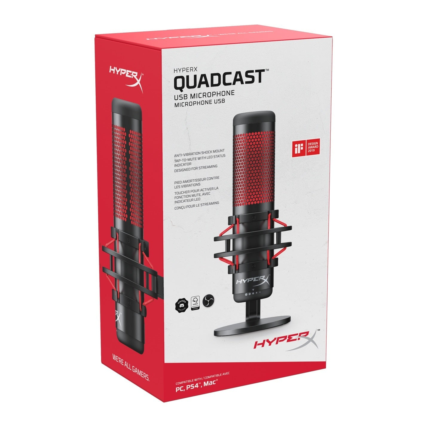 HyperX Quadcast Microphone - PC Games