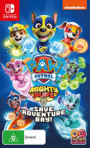PAW Patrol: Mighty Pups Save Adventure Bay - Nintendo Switch