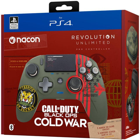Nacon PS4 Revolution Pro Unlimited Gaming Controller - COD Black Ops Cold War Edition - PS4