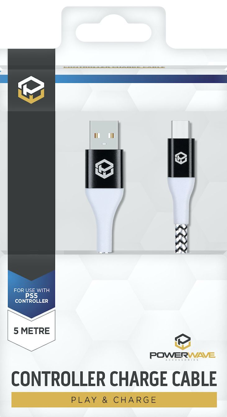 Powerwave PS5 Charge Cable 5m - PS5