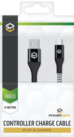 Powerwave Xbox Charge Cable 5m - Xbox Series X