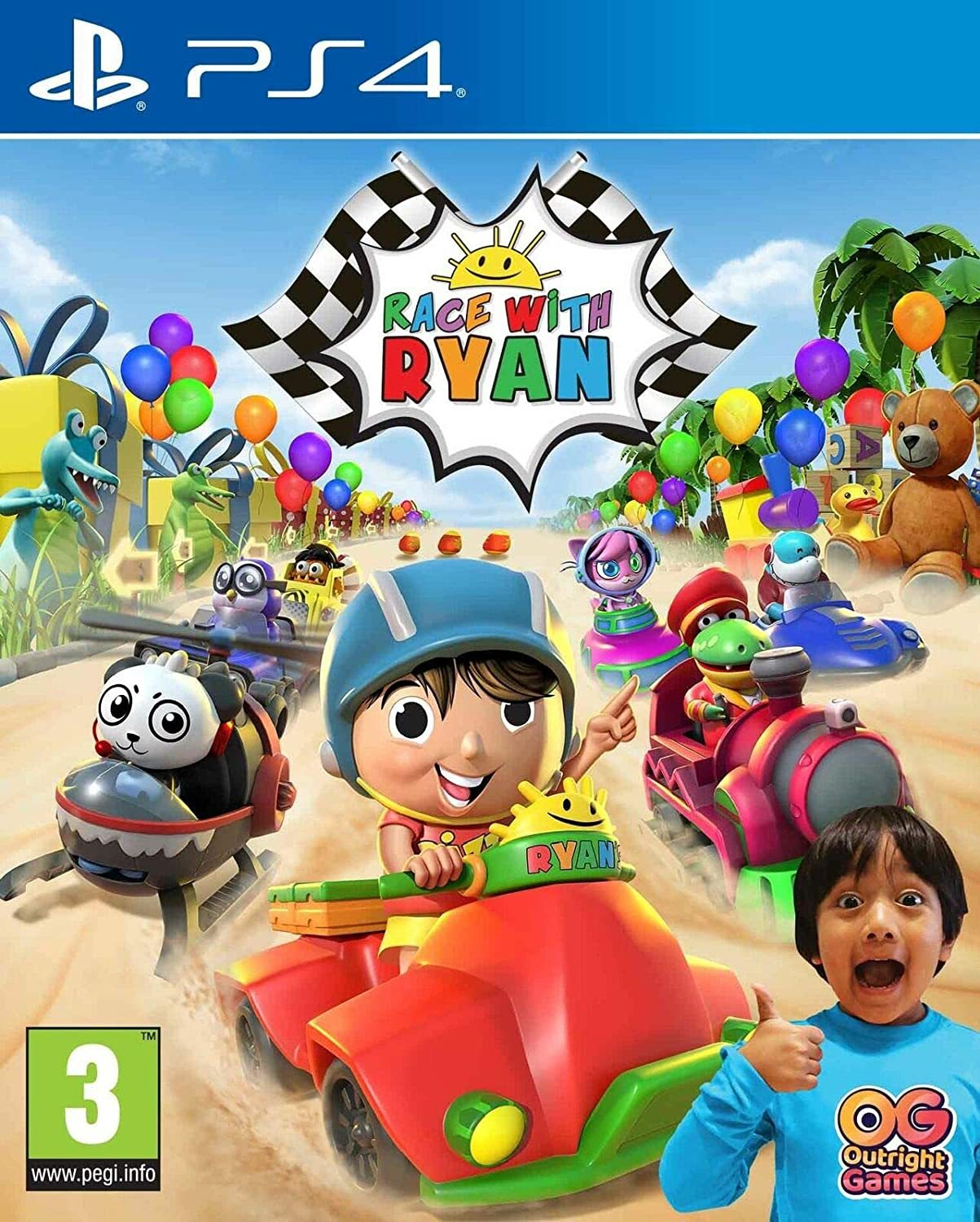 Race with Ryan: Road Trip Deluxe Edition - PS4