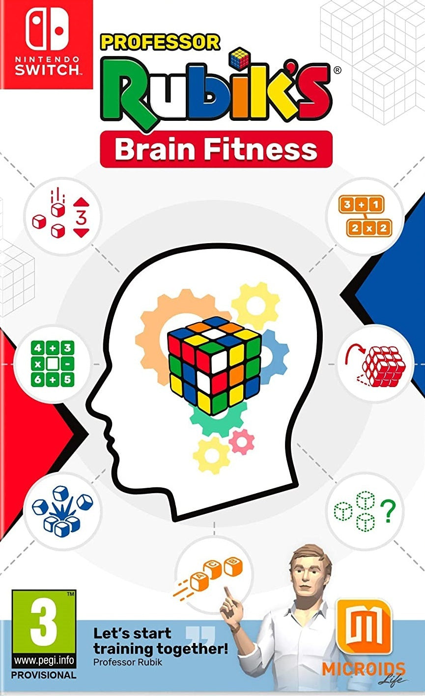 Professor Rubik's Brain Fitness - Nintendo Switch