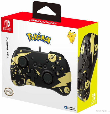 Hori Nintendo Switch Mini HORIPAD (Pikachu) - Nintendo Switch