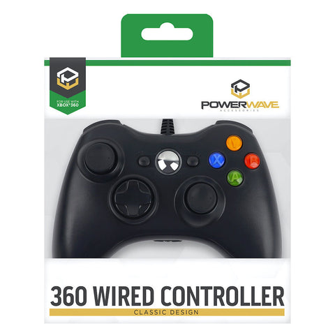 Powerwave Xbox 360 Wired Controller - Xbox 360