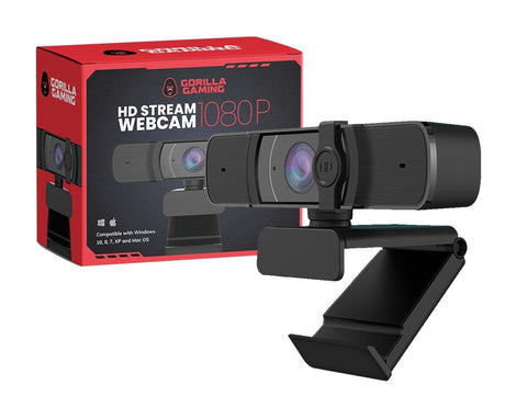 Gorilla Gaming HD 1080P Stream Webcam