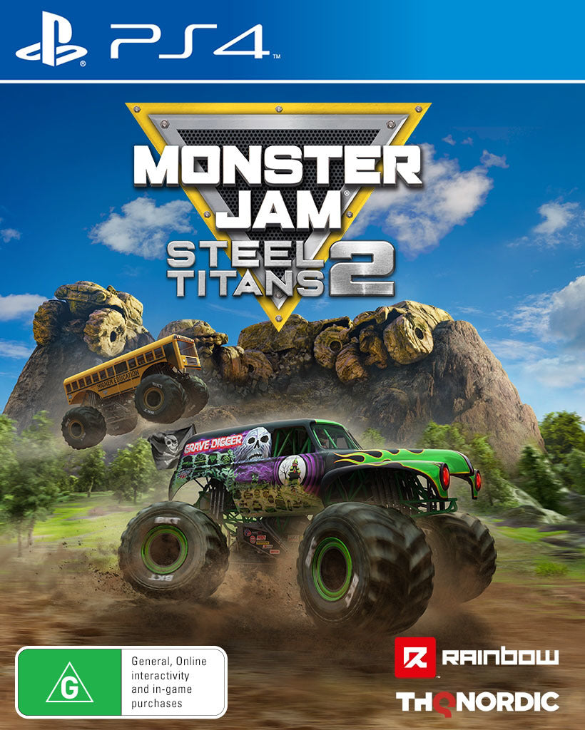 Monster Jam Steel Titans 2 - PS4