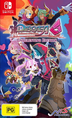 Disgaea 6: Defiance of Destiny Unrelenting Edition - Nintendo Switch