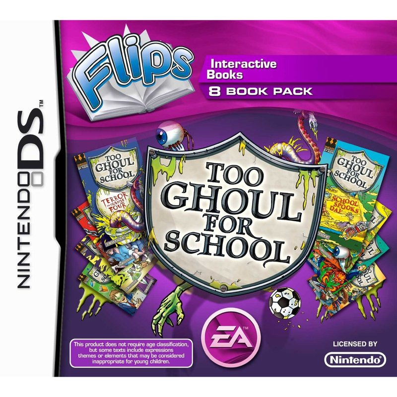 Too Ghoul for School 8 Books (FLIPS) - Nintendo DS