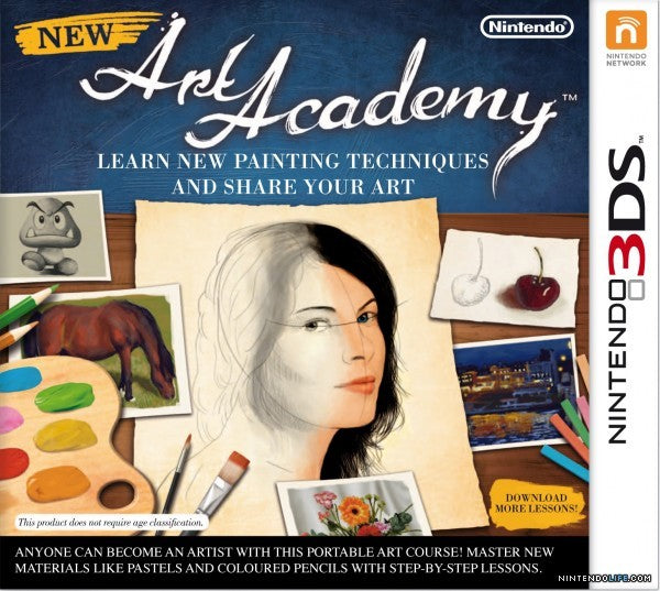 New Art Academy - Nintendo 3DS