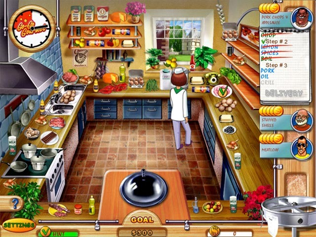 Go-Go Gourmet (TK play) - PC Games