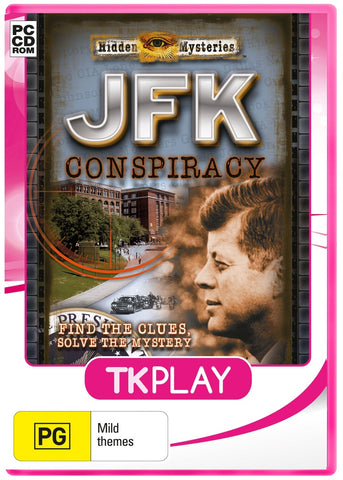 Hidden Mysteries JFK Conspiracy (TK play) - PC Games