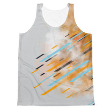 Load image into Gallery viewer, Orange/Grey Tank Top